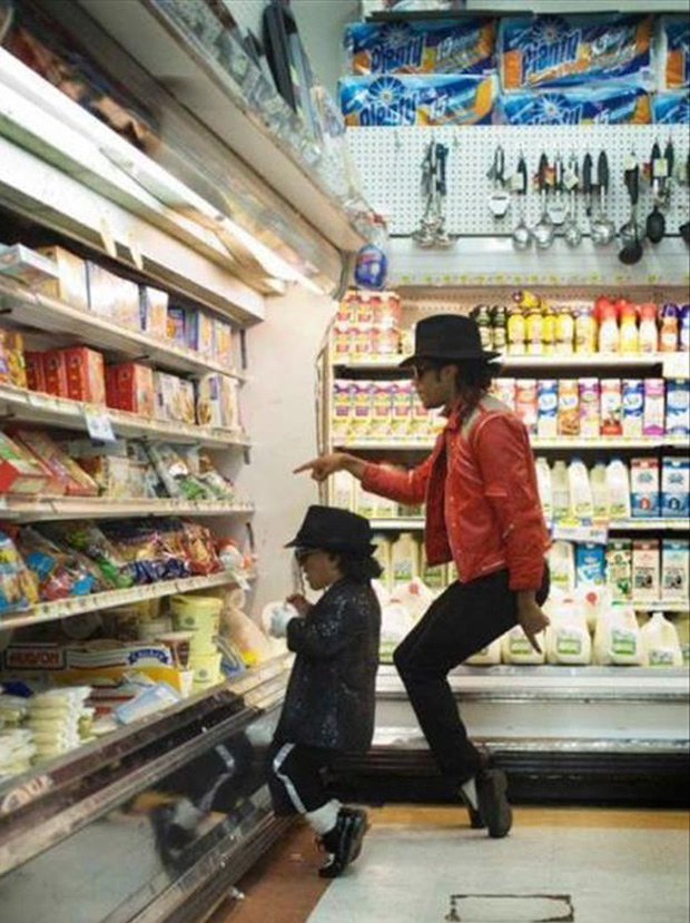 micheal jackson shopping
