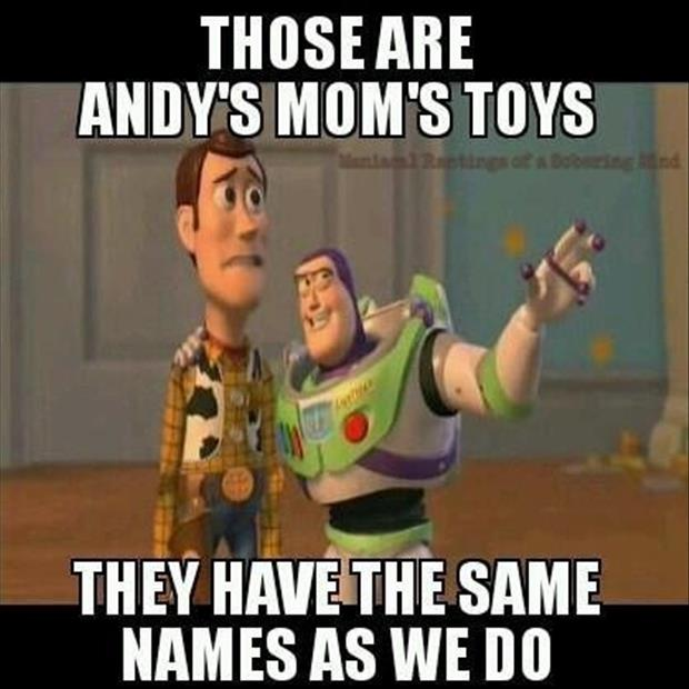 buzz and woody meet moms toys