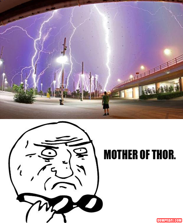 mother of god, thor