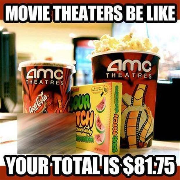 movie theater prices