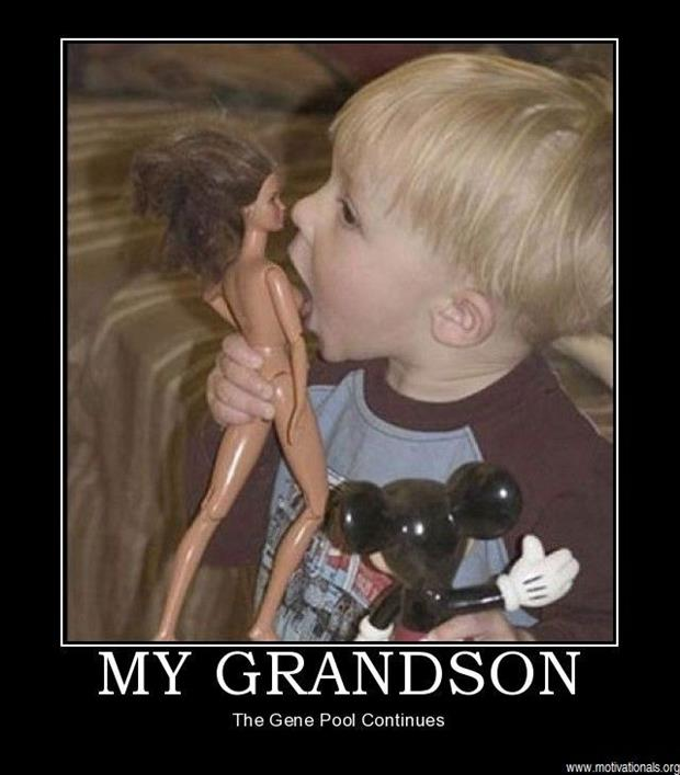 my grandson demotivational posters