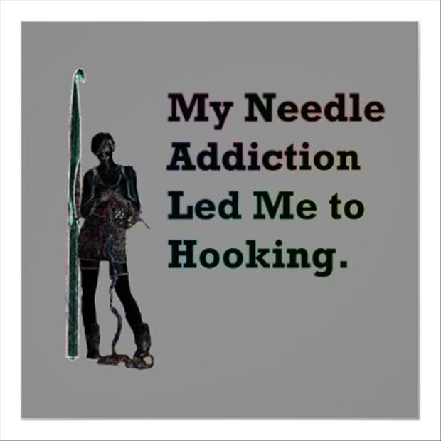 my needle addiction led me to hooking
