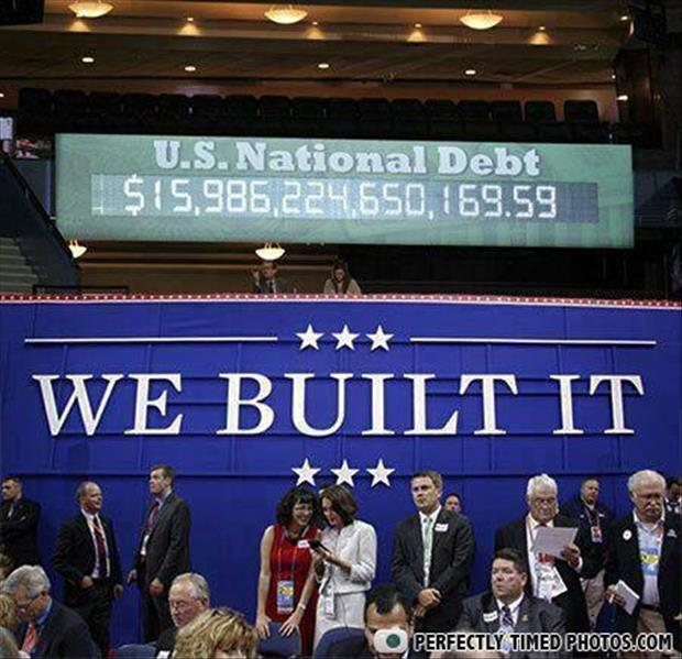 national debt we built it