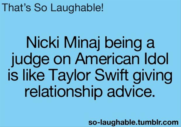 nicki minaj judge on american idol is a joke