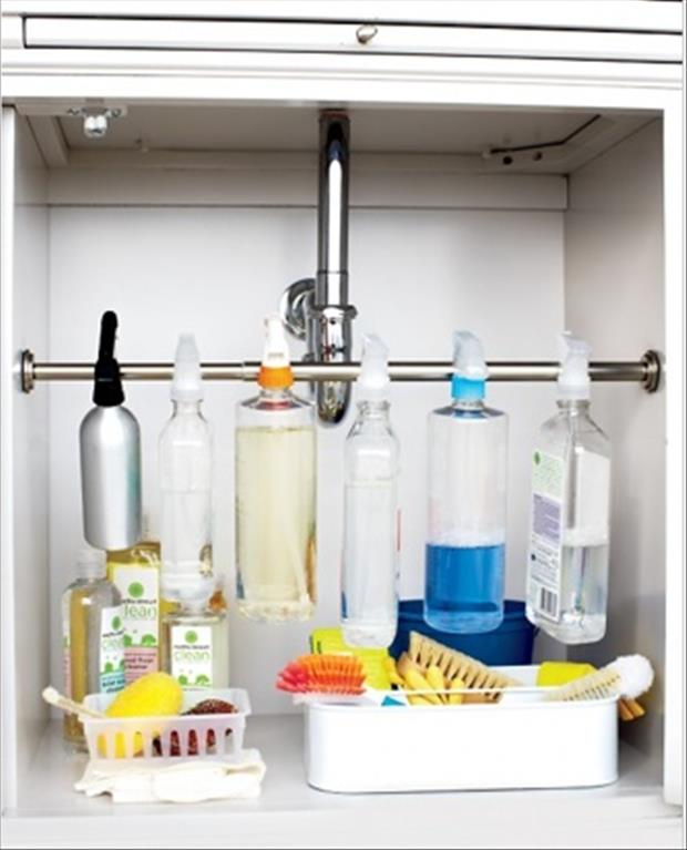 organize under your sink