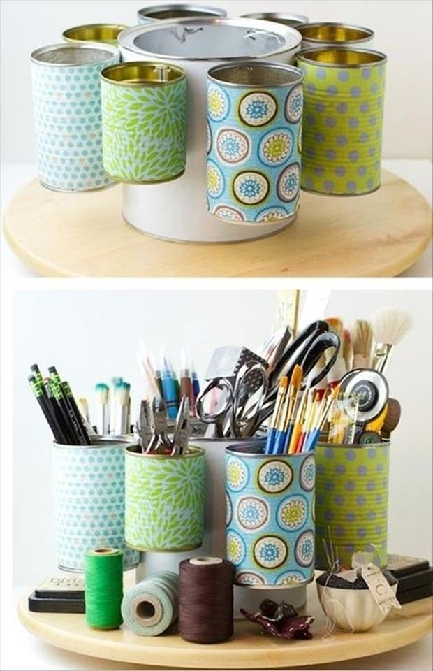 organize your craft supplies