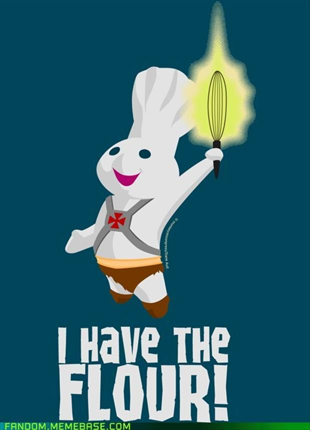 pillsbury funny doughboy dough boy he power ha parody dump quotes comic laugh flour sayings memes jeans comics too heman