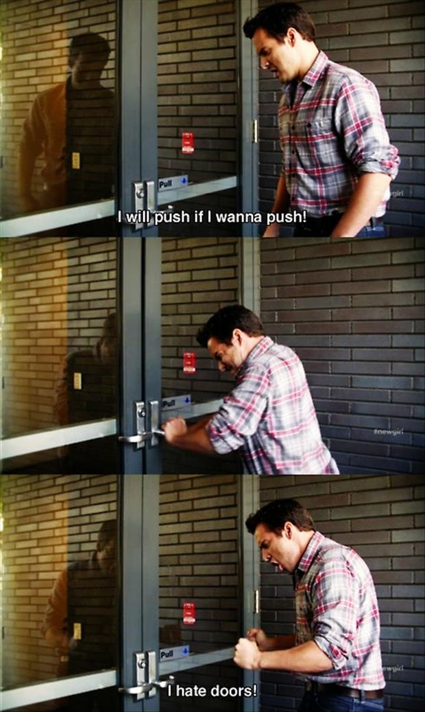 push door funny pictures