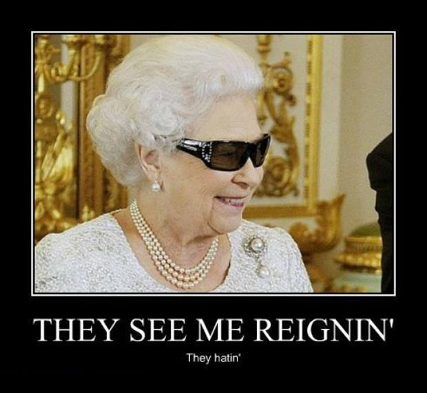 queen demotivational posters