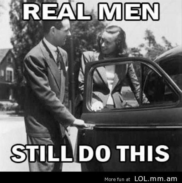 real men still do this