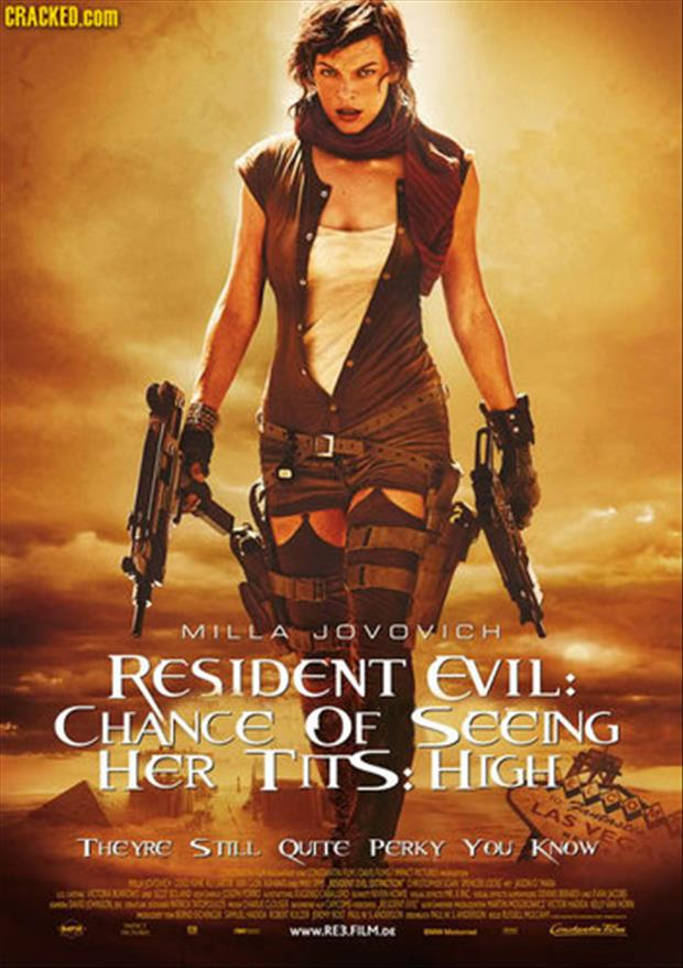 resident evil funny posters