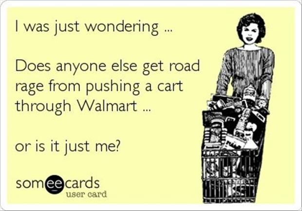 road rage at wal mart