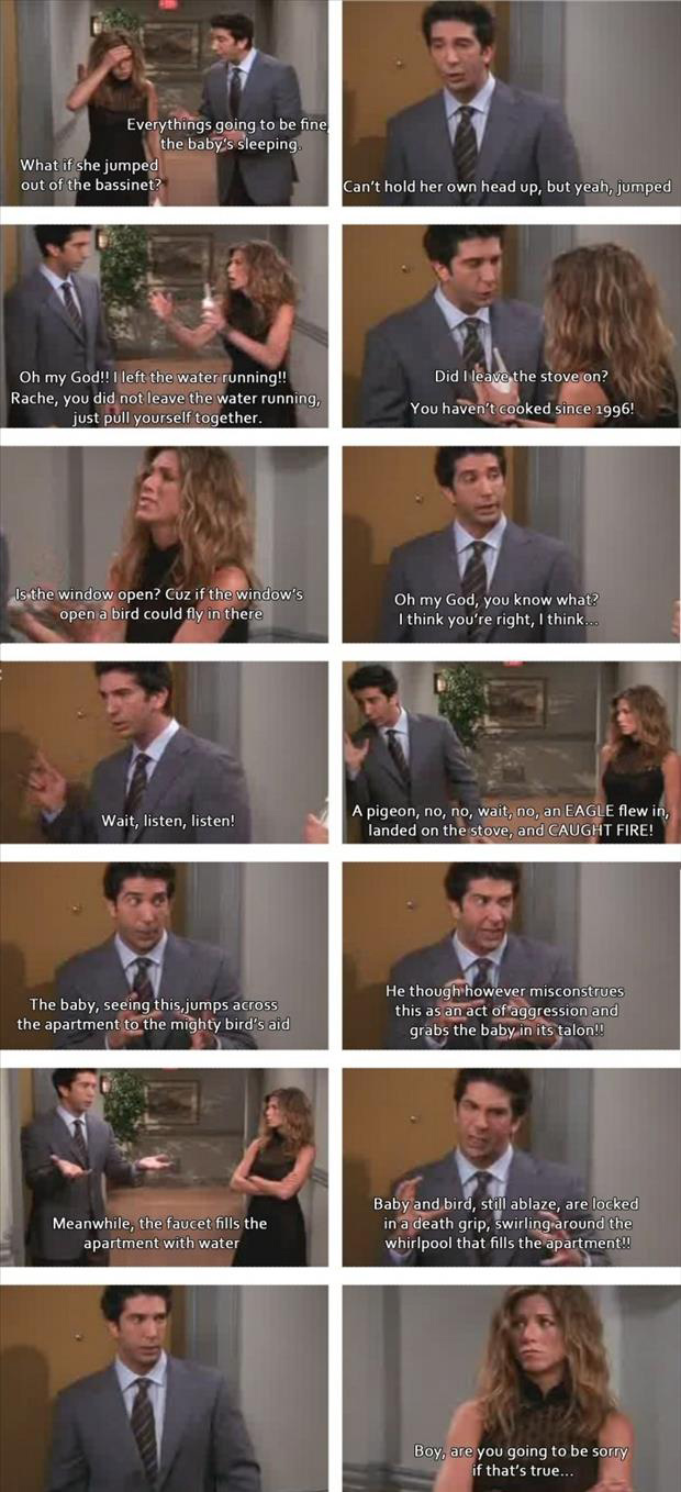 ross and jennifer from friends