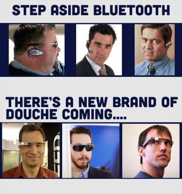 step aside blue tooth there is a new brand of douche coming