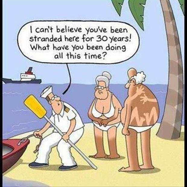 stranded on an island for years