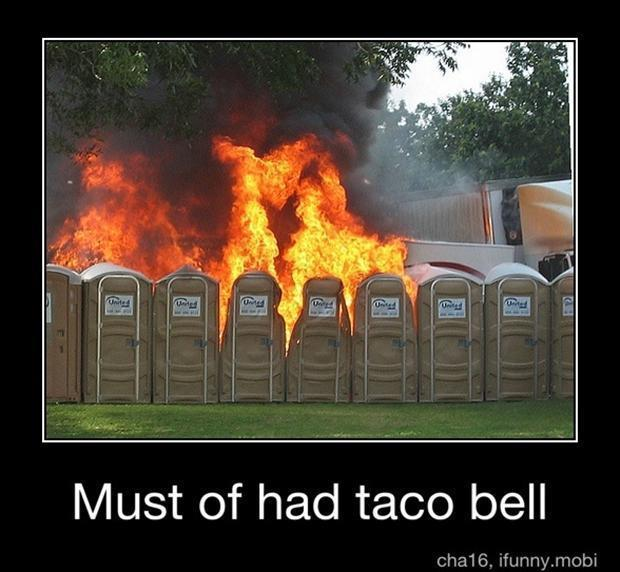 taco bell funny demotivational poster