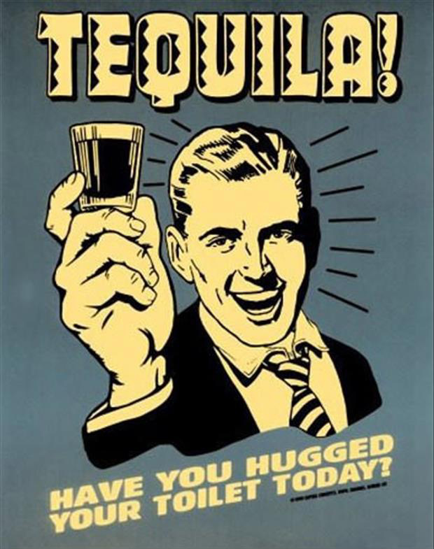 tequila funny posters