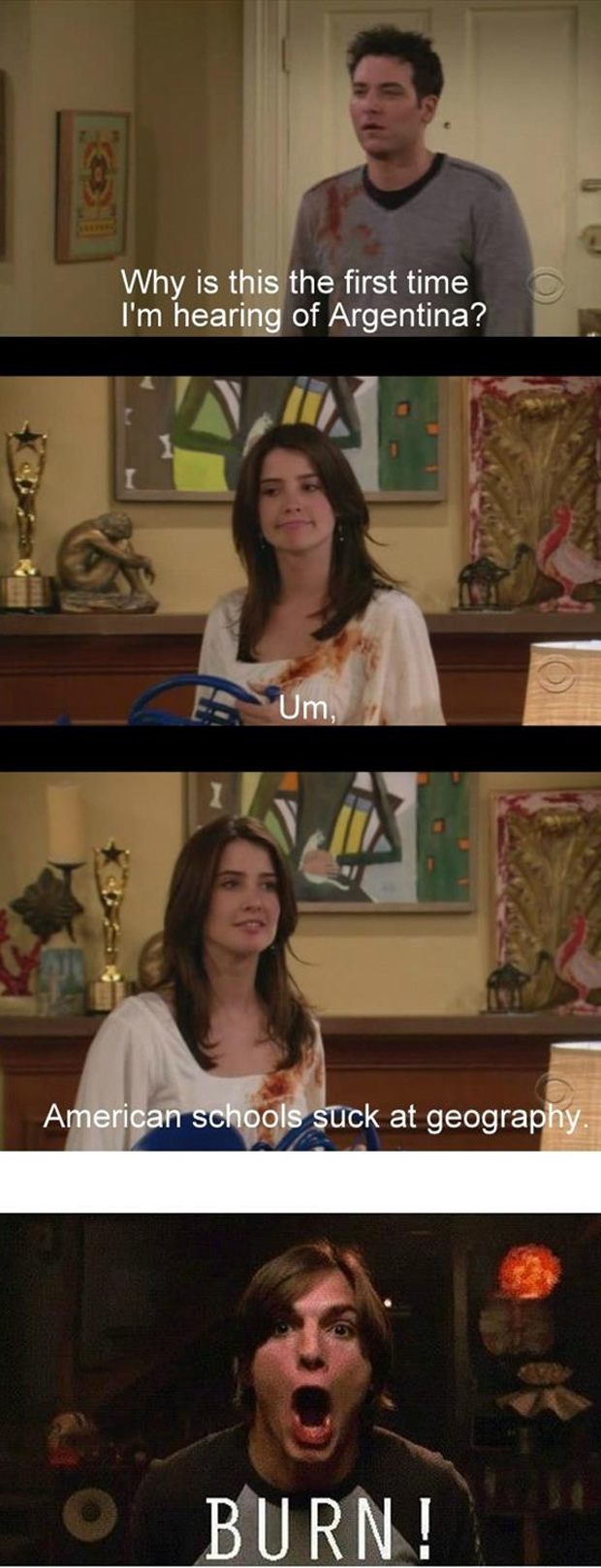 the american school system how I met your mother