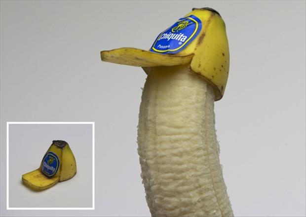 the banana hat