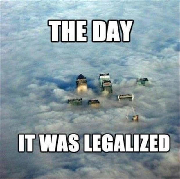 the day weed was legalized