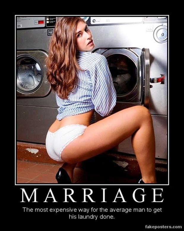 the demotivational posters marriage