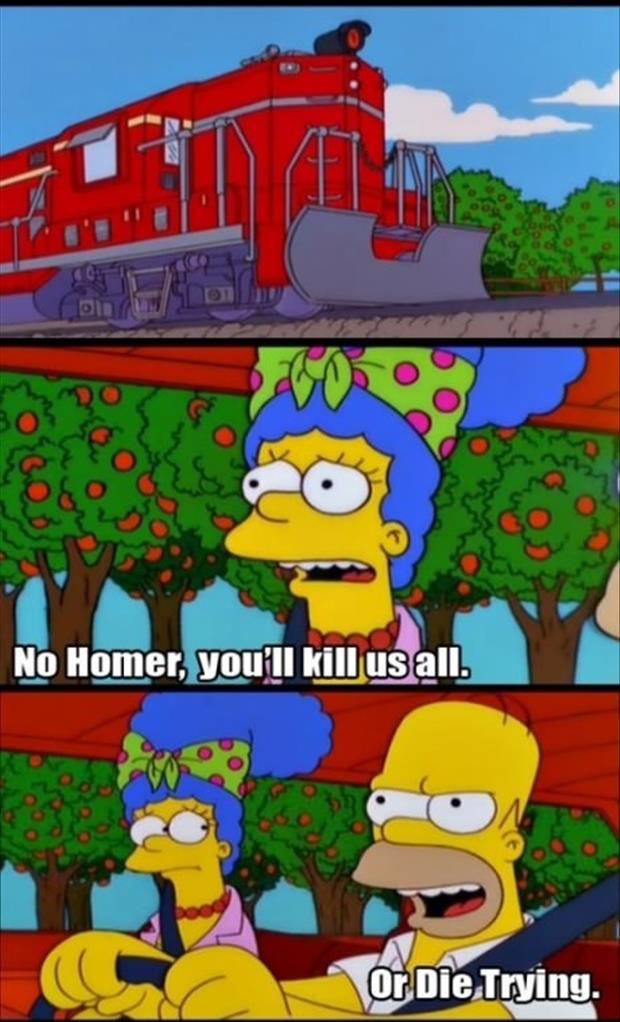 the simpsons are going to die funny homer pictures