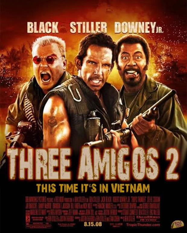 three amigos funny movie posters