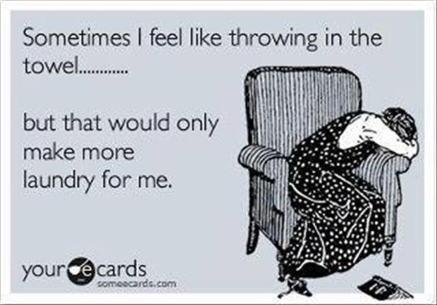 Throwing In The Towel Quotes Inspiration Throwing In The Towel Funny Pictures  Dump A Day