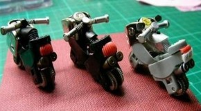 How To Turn Old Lighters Into Mini Motorcycles – 8 Pics