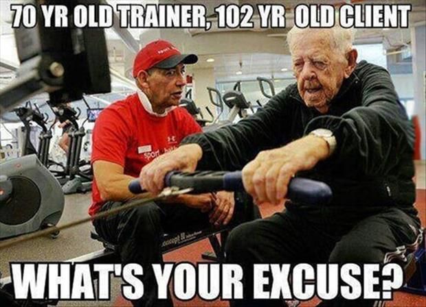 what's your excuse