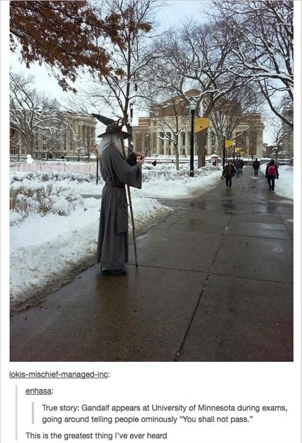 you shall not pass funny college humor