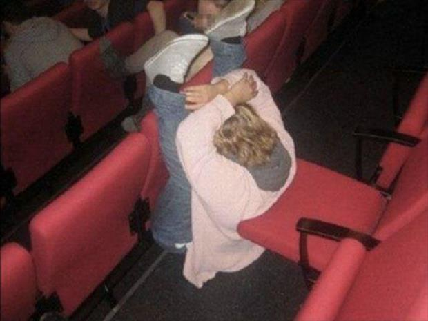 you're doing it wrong movie theater seats