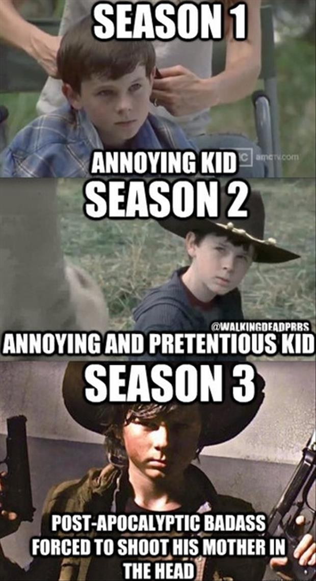 Carl Grimes, The Walking Dead