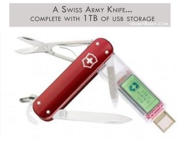 Geek Genius Ideas- A Swiss Army Knife