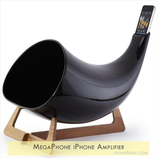 Geek Genius Ideas- MegaPhone iPhone Amplifier