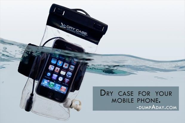 Geek Genius Ideas- dry case for your mobile phone