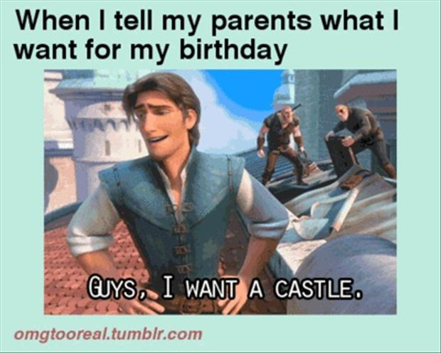 I want a castle