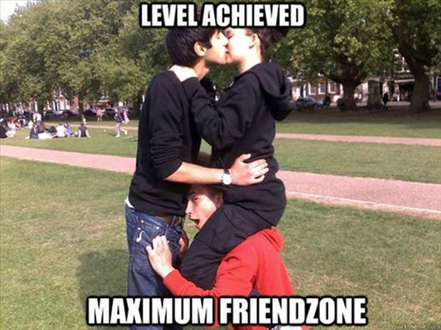 a friendzone shoulder ride
