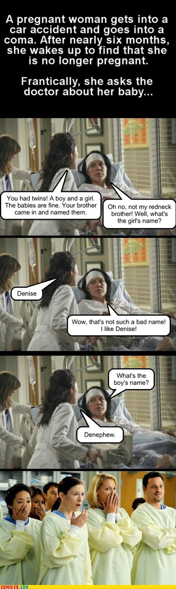 a funny baby names