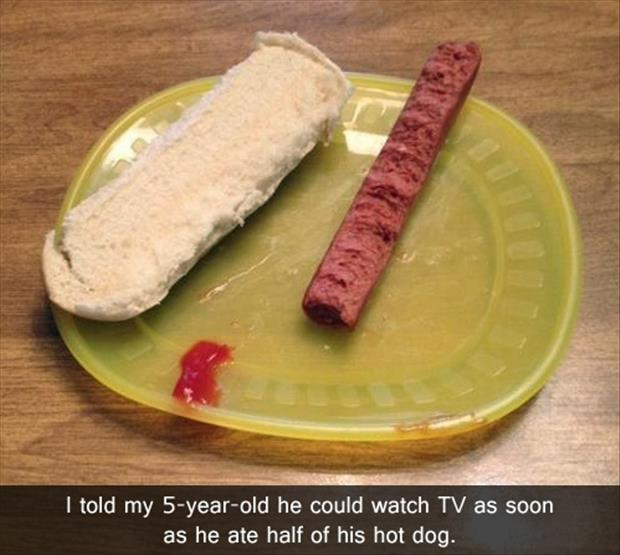 a funny kids lunch