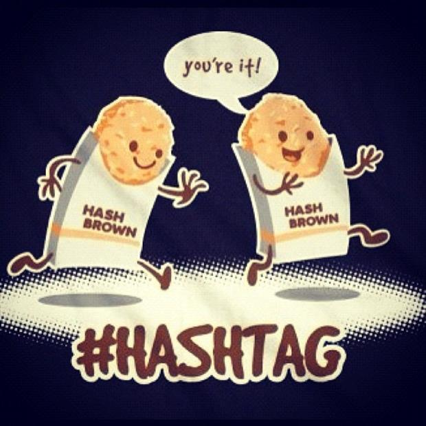 a hash tags