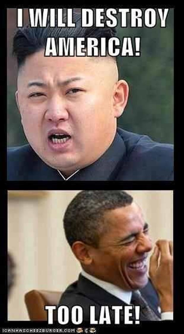 a north korea will destroy america funny pictures