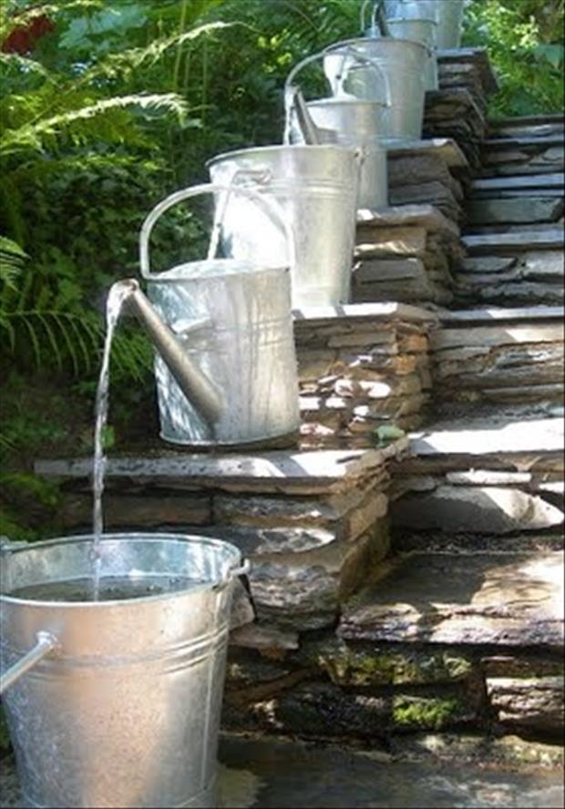a water bucket for your garden
