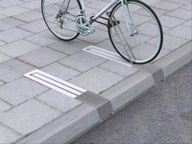 anti theft bike rack