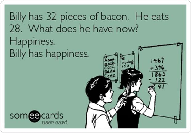 bacon math problems