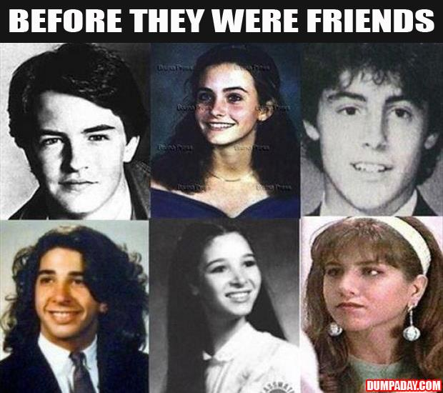 before they were friends