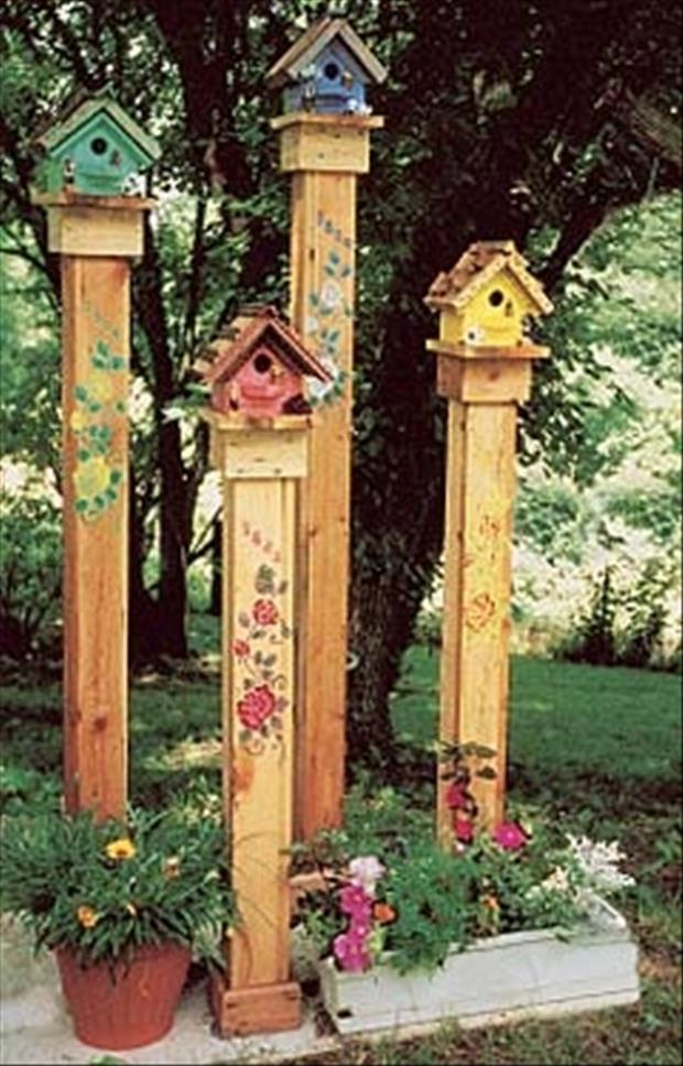 Bird Houses Dump A Day