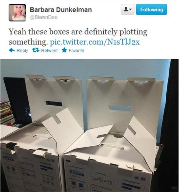 boxes look suspicious