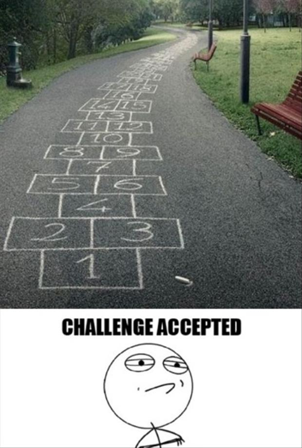 challenge accepted, park path
