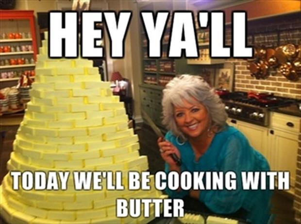 cooking with butter